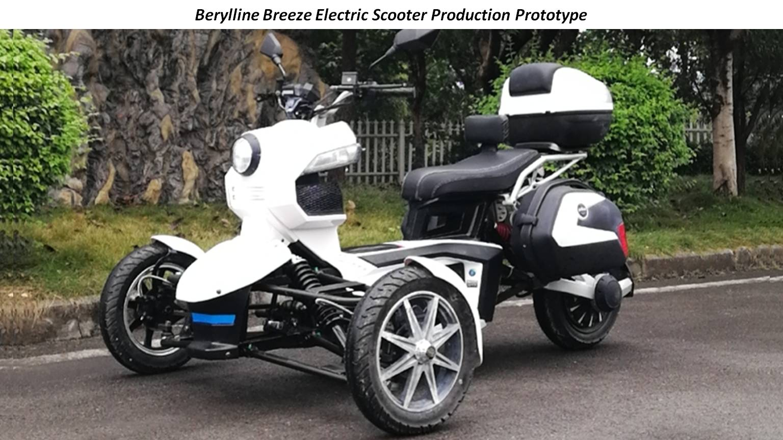 Berylline Breeze Electric Scooter Production Prototype