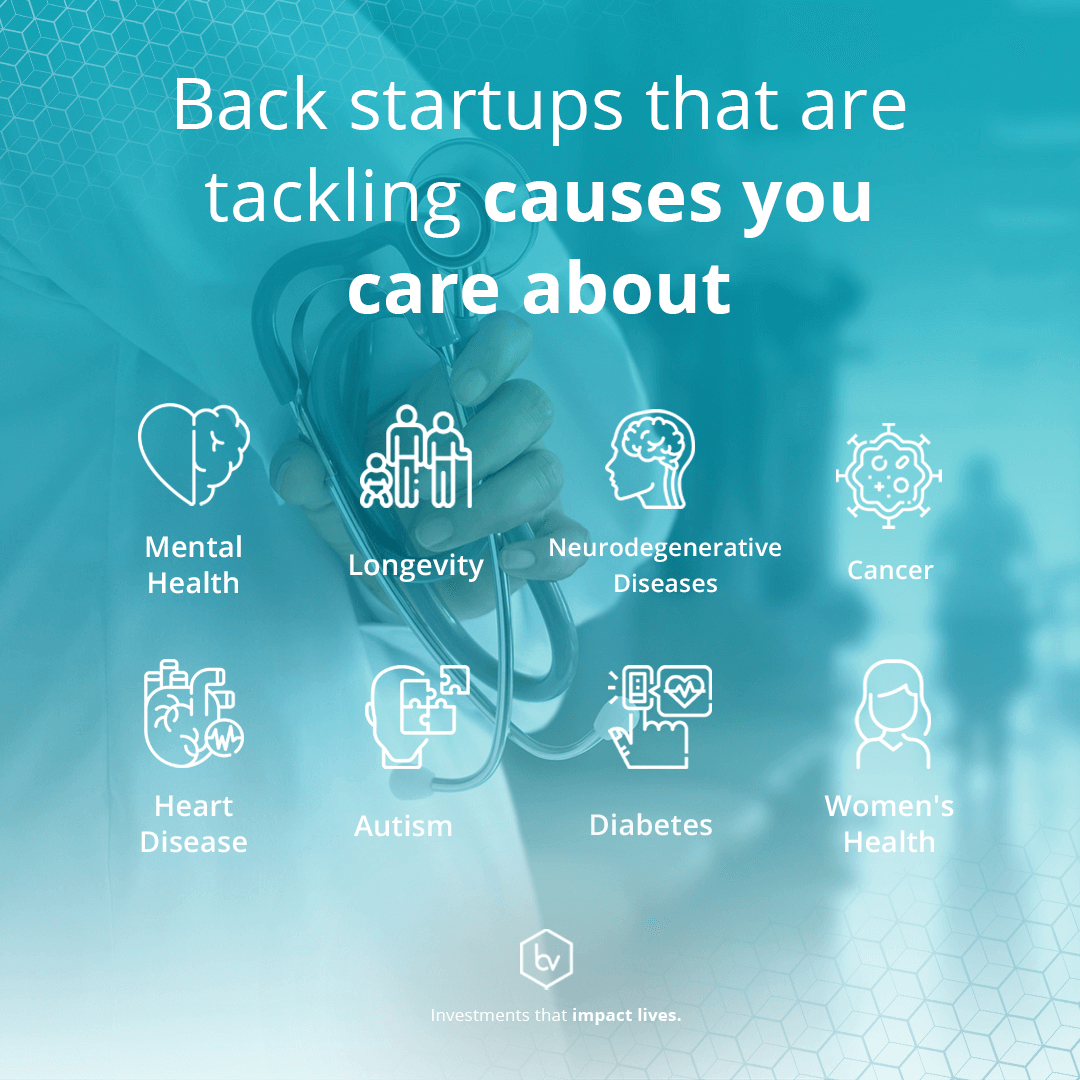 Back startups that are tackling causes you care about