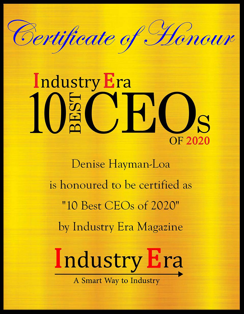 10 Best CEOs