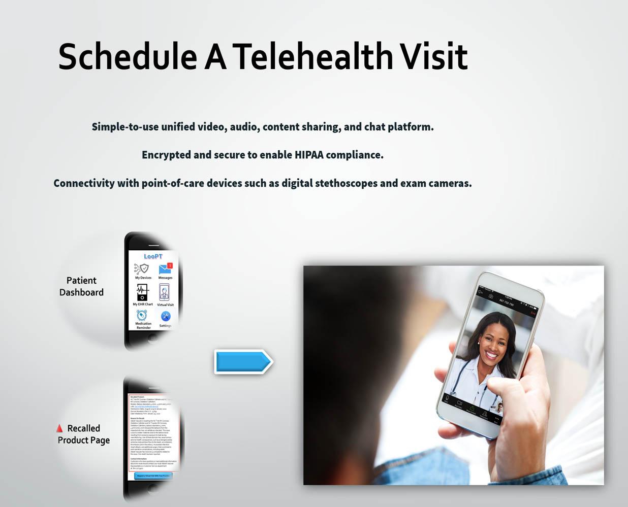Schedule a telehealth visit