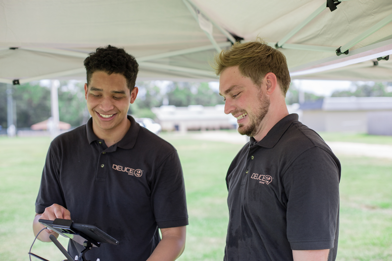 Deuce Drone Engineers Prep for Demo Day