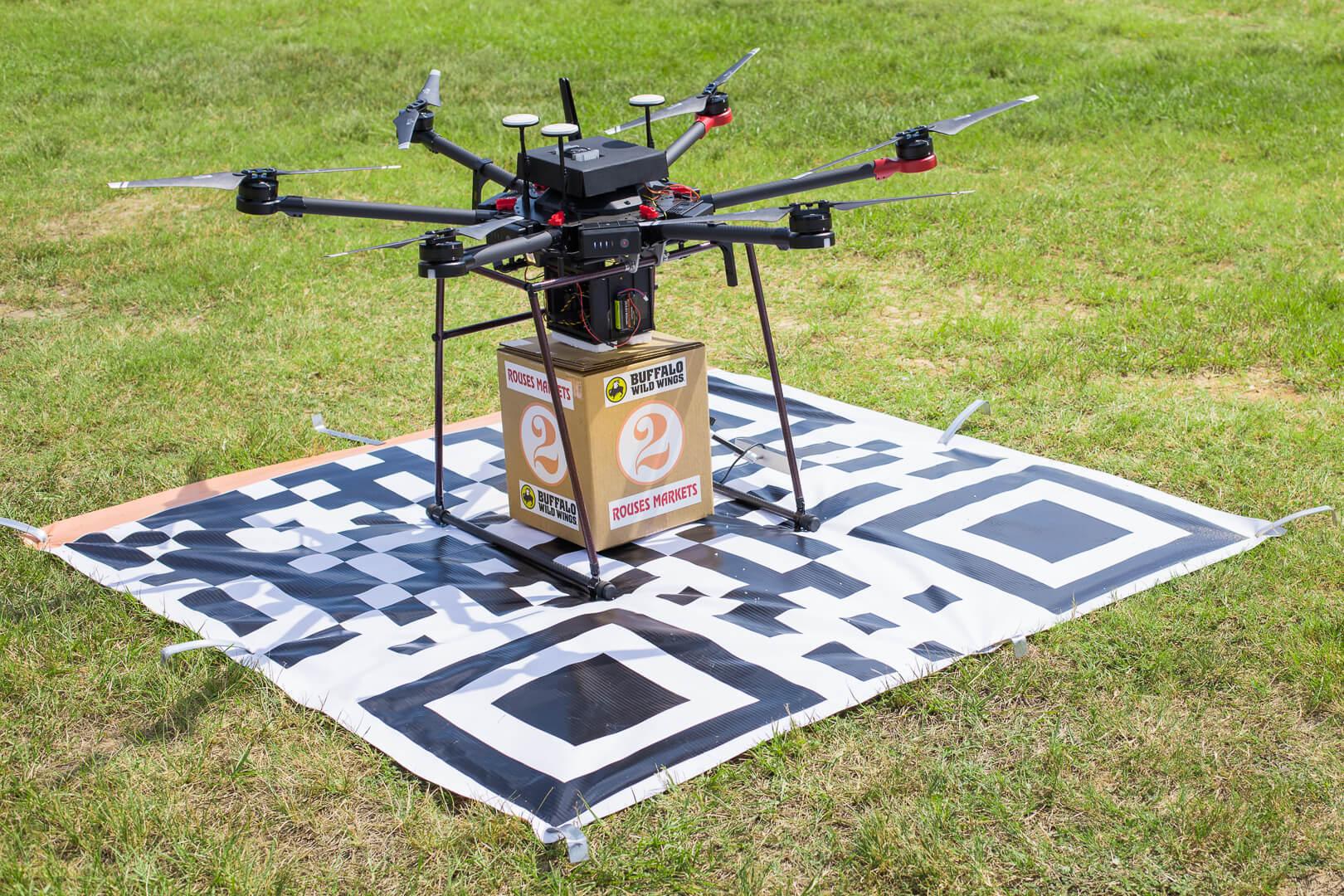 Deuce Drone Lands on Target