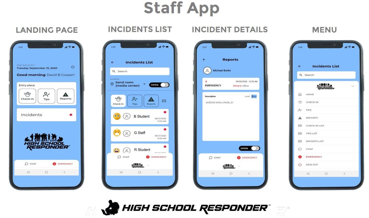Staff Phone App