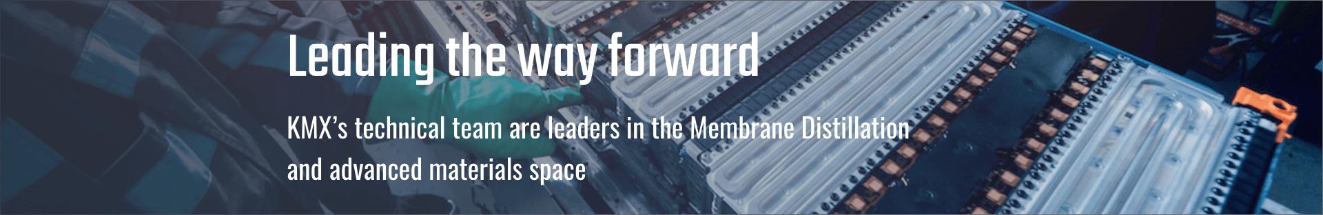 KMX team - Leading the way forward