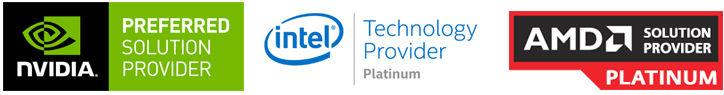 OEM Partners: Intel, nVidia, AMD