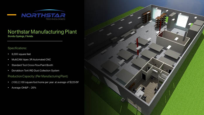 Northstar Manufacturing Plant