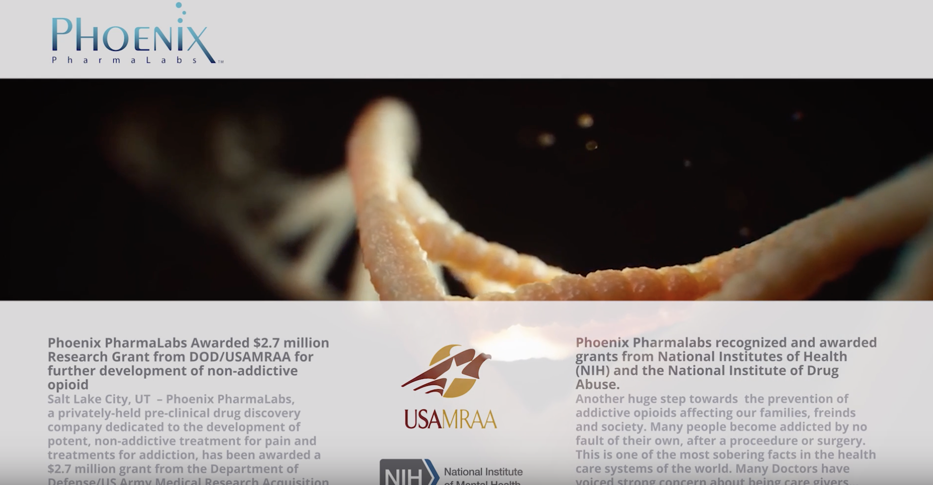 Phoenix PharmaLabs Inc ← Netcapital