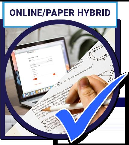 Online/Paper Hybrid