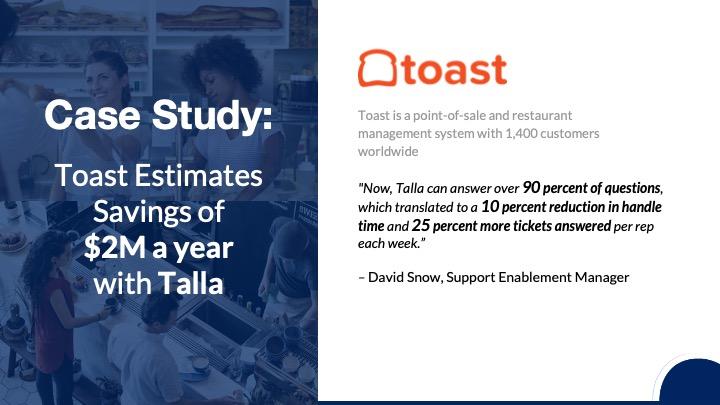 Toast case study